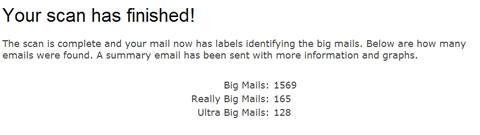 Depurar correo de Gmail con Find Big Mail - depurar-gmail