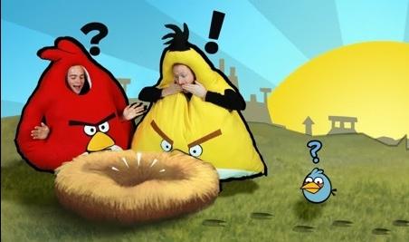 Divertidos disfraces de Angry Birds - disfraces-angry-birds-1