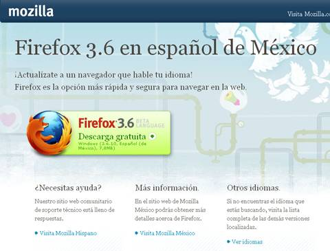 Firefox en español de México - firefox-mexico