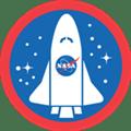 Foursquare usado en la NASA - foursquare-nasa-badge