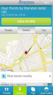 foursquare nokia e1287060444497 Foursquare para nokia, app oficial
