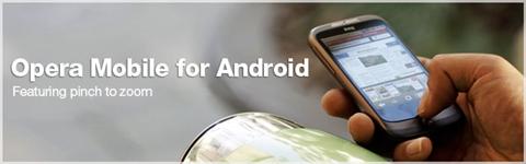 Opera Mobile para Android en noviembre - opera-mobile-android