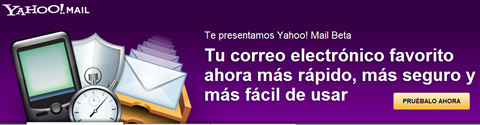 probar correo yahoo beta Nuevo correo yahoo beta