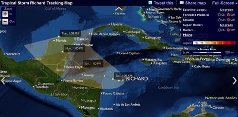 tormentas huracanes Información de huracanes y tormentas online