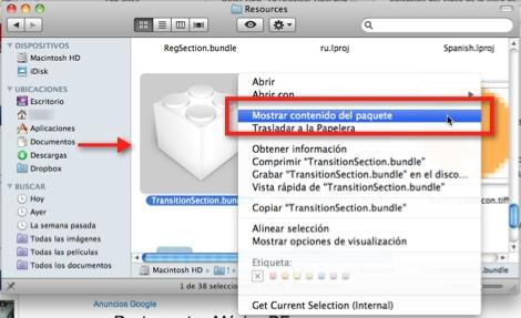 Como ubicar el video de introducción de Mac OS X - transition-section