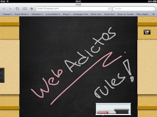 Aplicación web para el iPad - Chalk - IMG_0247