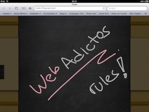 Aplicación web para el iPad - Chalk - IMG_0248