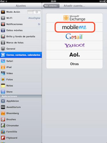 agregar mobileme Cómo activar Busca mi iPhone en iOS 4.2