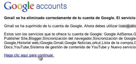 borrar cuenta gmail 10 Cómo borrar tu cuenta de Gmail