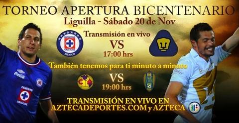 Cruz Azul vs Pumas en vivo, Cuartos de Final Apertura 2010 - cruz-azul-pumas-en-vivo-cuartos-apertura-2010