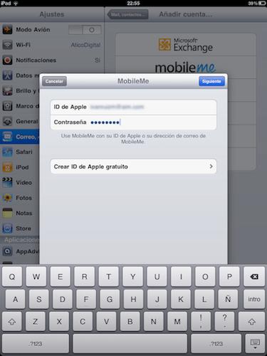 """Cómo activar """"Busca mi iPhone"""" en iOS 4.2 - cuenta-mobileme"""