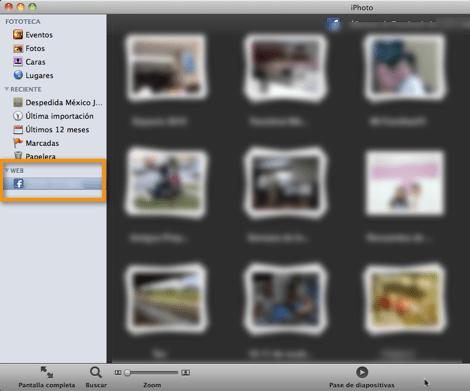 Como añadir tu cuenta de Facebook a iPhoto 11 - facebook-en-iphoto