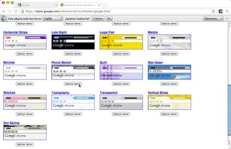 galeria de temas google chrome Como cambiar tu tema de Google Chrome