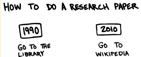 Diferencia entre trabajos de Investigación de los 90 vs el 2010 [Humor] - trabajos