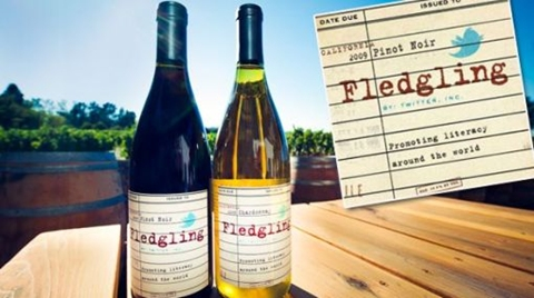 Twitter ayuda a beneficencia con vino - twitter-vino-fledgling