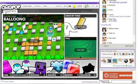 Yahoo Messenger Beta integra Twitter y Zynga - yahoo-messenger-juegos