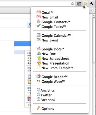 Accede a tus servicios de Google de manera sencilla en Chrome - 2010-12-06_23-49-09