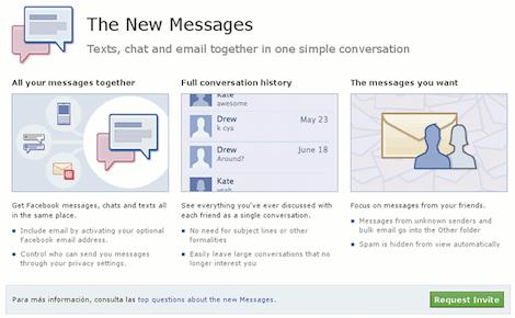 Como activar los nuevos mensajes de Facebook - Facebook-y-su-nuevo-sistema-de-mensajes