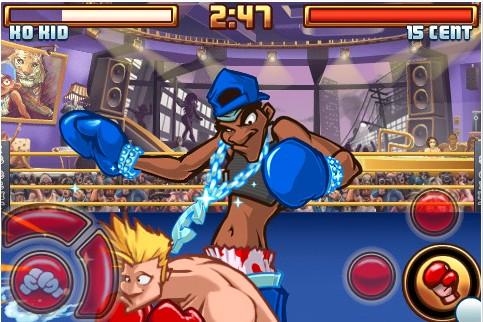 Juego para iPhone/iPod, Super KO Boxing 2 - Super-KO-boxing-2