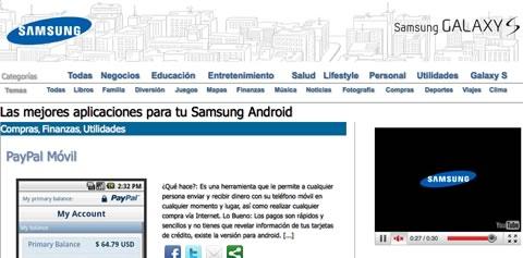Las mejores Aplicaciones para Samsung Galaxy S - aplicaciones-android-samsung