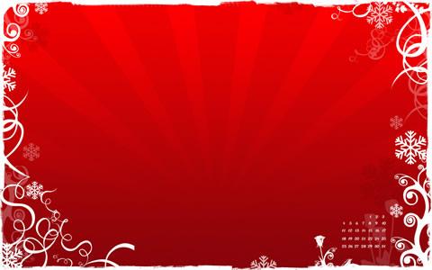 fondos navidad red christmas Wallpapers de navidad 2010