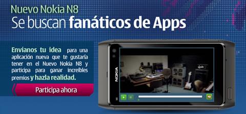 nokia n8 apps Envia tu idea de app y gana un Nokia N8