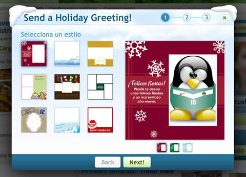 tarjetas navidad Tarjetas de navidad en Picnik