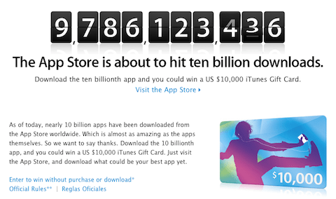 Apple recompensará a quien descargue la App número 10 mil millones - Captura-de-pantalla-2011-01-15-a-las-02.01.38