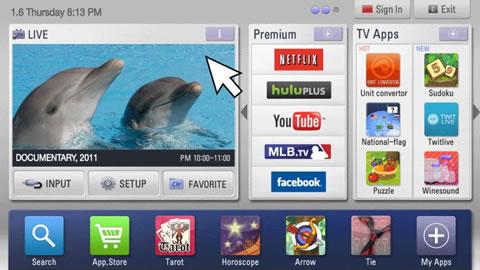 LG presenta Innovaciones Inteligentes en CES 2011 - LG_SmartTV_TV