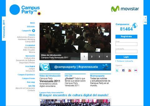 Campus Party Venezuela 2011 - campus-party-venezuela-2011