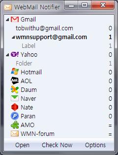 Checar hotmail y otros con WebMail notifier - checar-hotmail-firefox