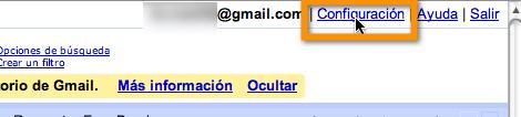 configuraciones gmail Como activar las nuevas notificaciones de escritorio de Gmail