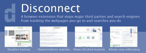 Para proteger tus datos mientras navegas, Disconnect - disconnect-chrome
