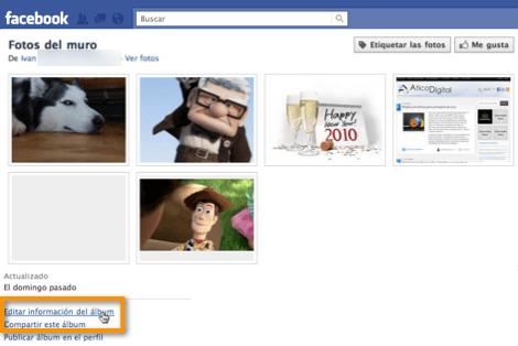 eliminar albums de facebook Como eliminar albums completos en Facebook