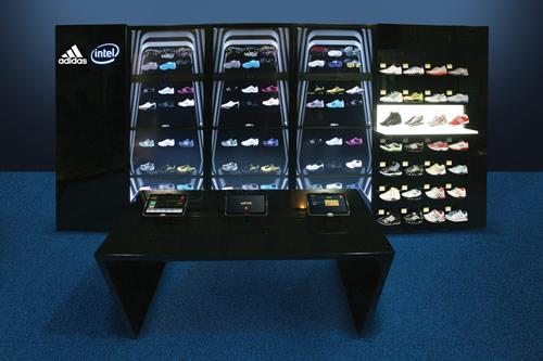 Intel presenta la tienda del futuro - intel-adidas-adiverse