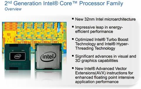 2da generación de procesadores Intel Core, CES 2011 - intel-core-2da-generacion