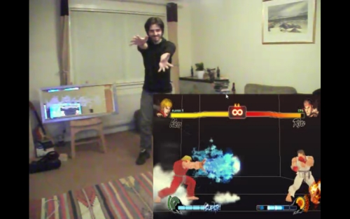 Street Fighter + Kinect = Hadoukinect! - kinect-hack-street-fighter