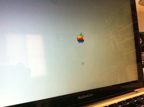 la foto Cambia el logotipo de arranque de Mac OS X