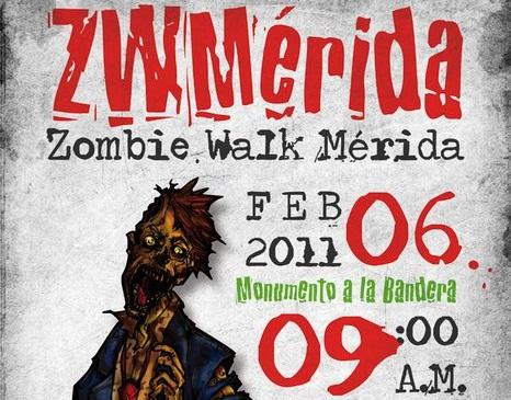 ¿Quieres ser zombie por un día? - marcha-zombie-merida