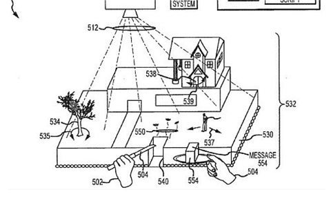pastel interactivo patente 3 Disney patenta pastel interactivo