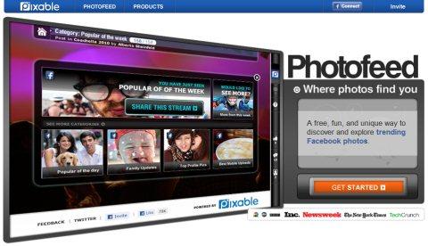 Organiza tus fotos de Facebook con Pixable - photofeed-facebook-album