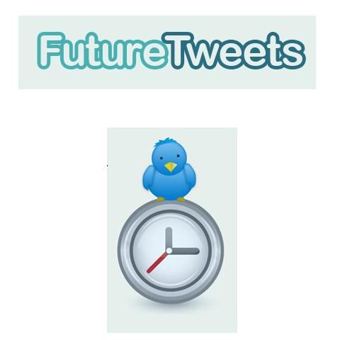 programar tweets FutureTweets, programar tweets para enviarse en el futuro