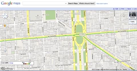 Como saber el tráfico de Buenos Aires con Google Maps - trafico-buenos-aires-google-maps