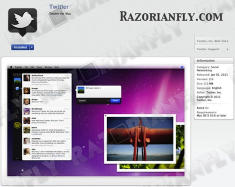 Twitter for Mac aparecerá mañana en la Mac App Store - twitter-for-mac