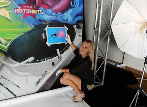 Xperia Hot Shots de Sony Ericsson, el tenis y el entretenimiento juntos - xperia-hot-shots-tenis