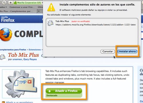 Haz que Firefox utilice múltiples filas para las pestañas - 2011-02-26_15-04-43