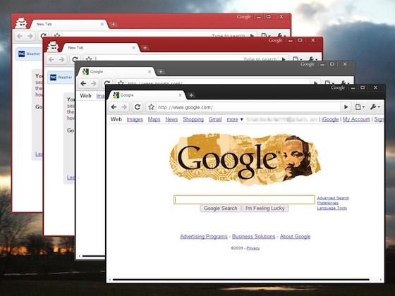 Nuevos temas para Google Chrome - Google-chrome-themes