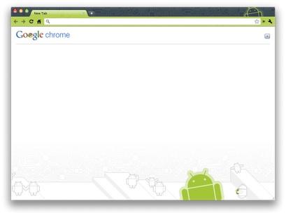 Robot theme Nuevos temas para Google Chrome