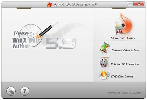Grabar videos para ver en DVD con WinX DVD Author - WinX-DVD-Author
