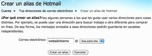 Crear alias de correo hotmail - como-crear-alias-hotmail